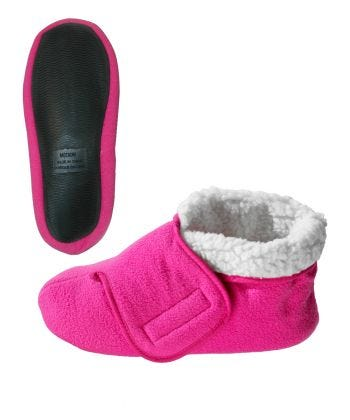 Deep and Wide Diabetic Bootie Slipper Women/Men