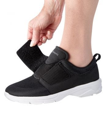 Womens Wide Lightweight Walking Shoes