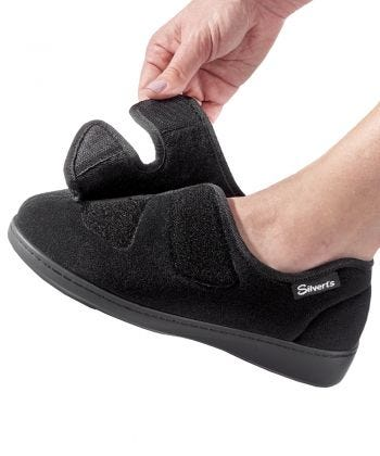 Hugster Slipper/Shoe in Black