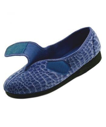 Extra Wide Womens House Slippers