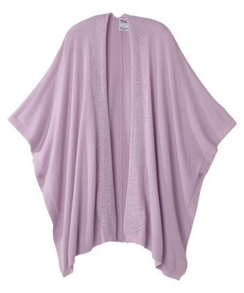 Senior Women's Adaptive 3-in-1 Poncho/Shawl/Scarf
