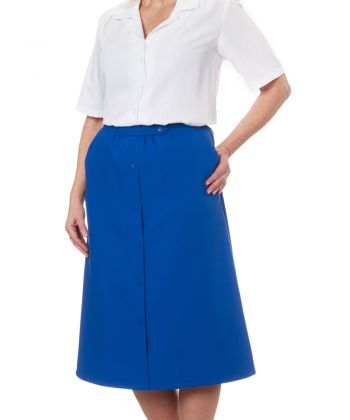 Womens Conventional Elastic Waist Skirt