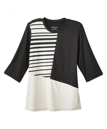 Top Color Block Open Back for Women
