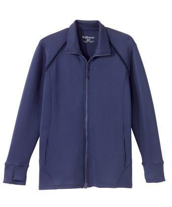 Senior Women's Adaptive Mag Zip Active Jacket Indigo