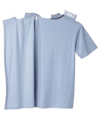 Men's Open Back Polo Shirt with Zip