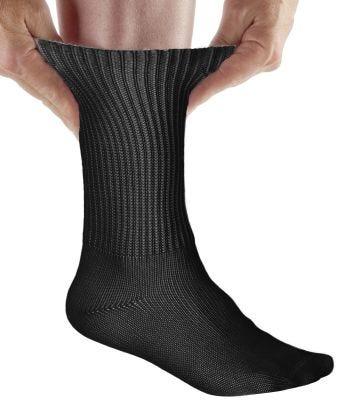 Womens & Mens Simcan® Comfort Diabetic Sock Black