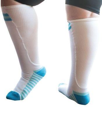 Womens Stretchy & Soft Compression Socks - Xpandasox