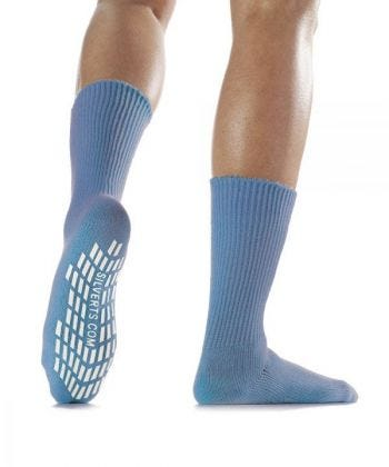 Unisex Slip Resistant Grip Socks