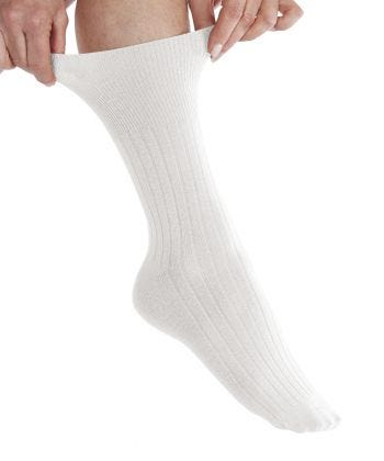 2 Pairs of Womens Diabetic Crew Socks