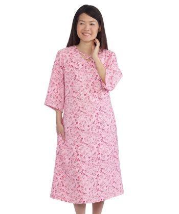 Womens Decorative Neck Adaptive Dress