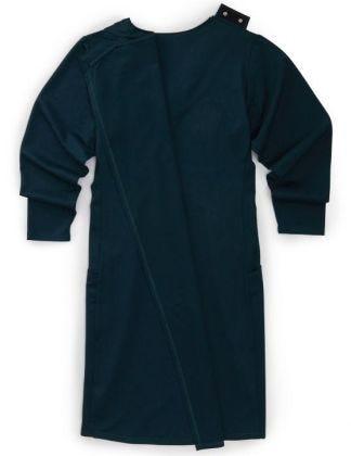 Women's Long-Sleeve Open Back Ponte Dress