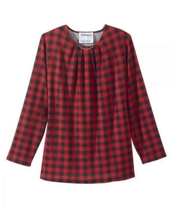 Women's Long Sleeve Open Back Sweater Knit Top