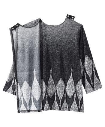 Women's Open Back Shirred Top