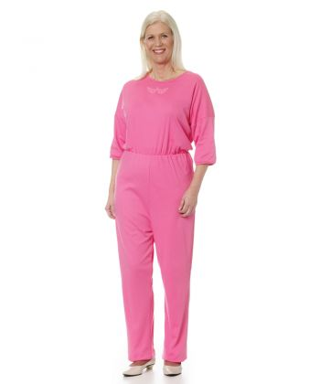 Womens Dementia Alzheimer's Anti Strip Jumpsuits