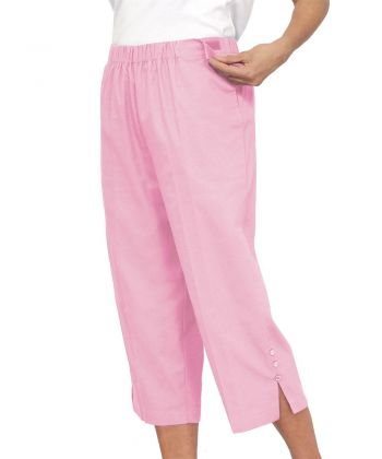 Women's Self Dressing Easy Access Capris