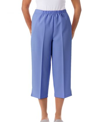 Womens Easy Access Capris Pants