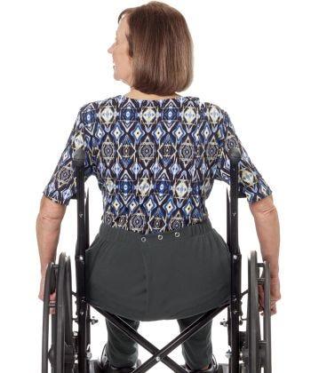 Women's Open Back Stretch Knit Pant