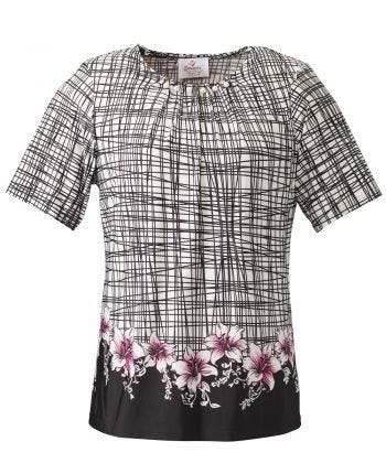 Women's Adaptive Fashion Top Short Sleeve