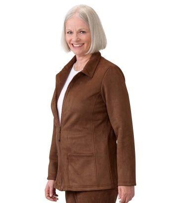 Women's Magnetic Zip Front Jacket