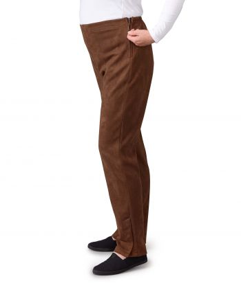 Women's Assisted Dressing Side Zip Pant with Pull Tabs