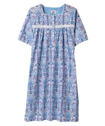 Short Sleeve Hospital Gowns for Women