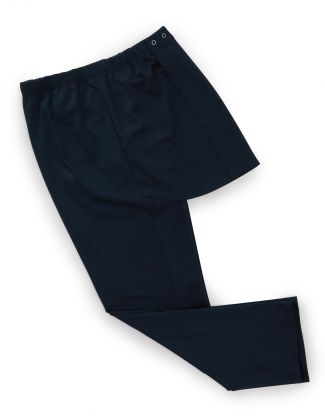 Pant Open Back Knit With Pocket Antimicrobial Navy