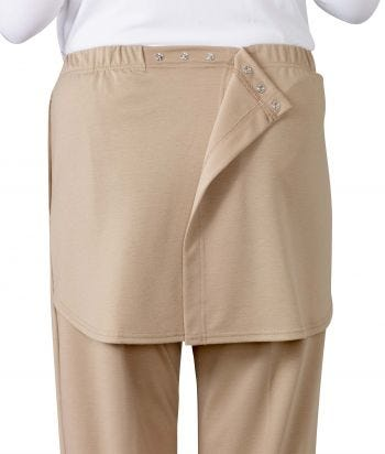 Women's Open Back Elastic Waist Pant