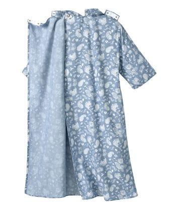 Women's Adaptive Open Back Collared Dress
