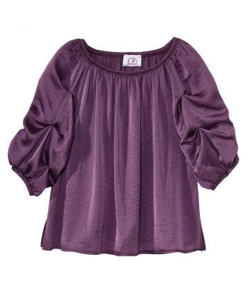 Easy Independent Self Dressing Peasant Top for Women