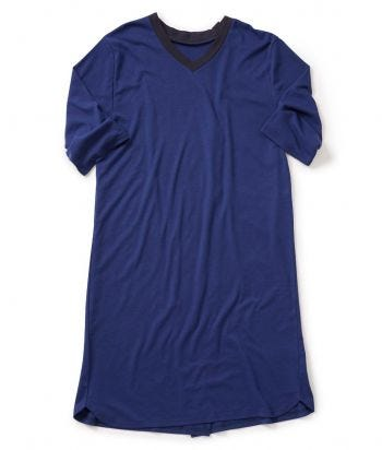 Men's Antimicrobial Open Back Hospital Gowns Royal