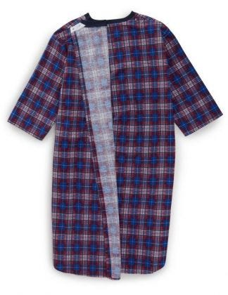 Men's Flannel Hospital Gowns