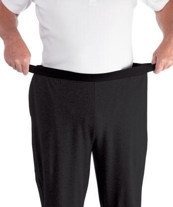 Pant Easy Grip Pyjama in Black