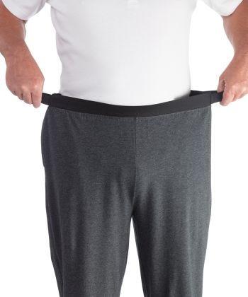 Pant Easy Grip Pyjama in Charcoal