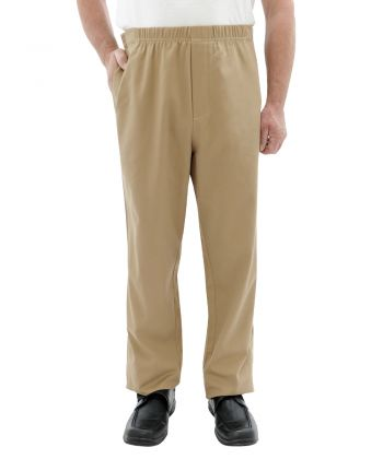 Mens Cotton Easy Access Open Side Pants