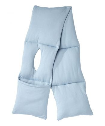 Women's Post-Surgical Puffer Scarf with Pouch