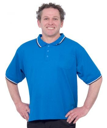 Handsome Adaptive Polo Shirt Tops