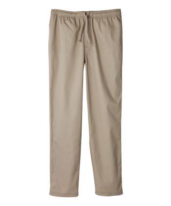 Men's Self Dressing Elastic Waist Pant with Drawstring