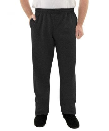 Trackpant Only Fleece in Black