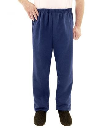 Fleece Adaptive Mens Wheelchair Pants