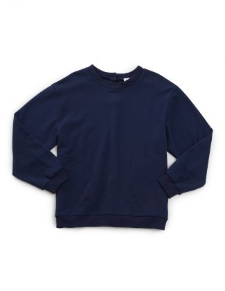 Men's Open Back Adaptive Fleece Sweatshirt