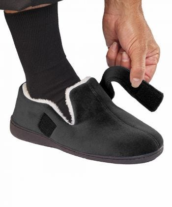 Mens Memory Foam House Slippers