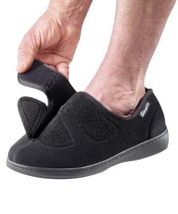 Mens Stretchable Comfort Hugster Shoe/ Slipper