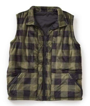 Men's Reversible Magnetic Front Vest