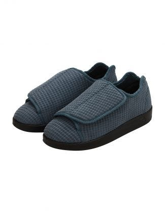 Mens Extra Extra Wide Slip Resistant Slippers