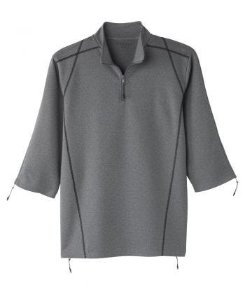 Men's Zippered Post Surgery Recovery Top