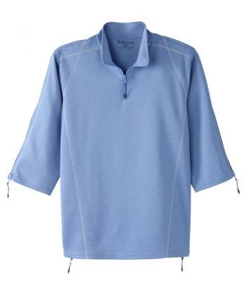 Men's Zippered Post Surgery Adaptive Recovery Top
