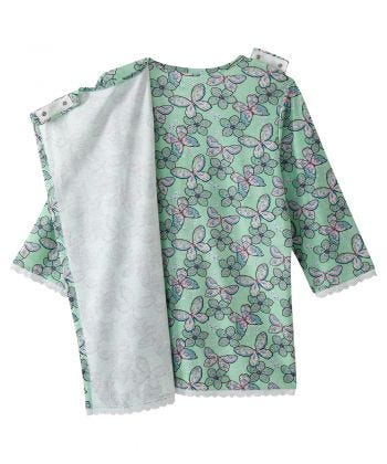 Women's Open Back Top & Pull on Pant Pajama Set