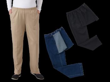 Women's Open Back Pants Set of 3