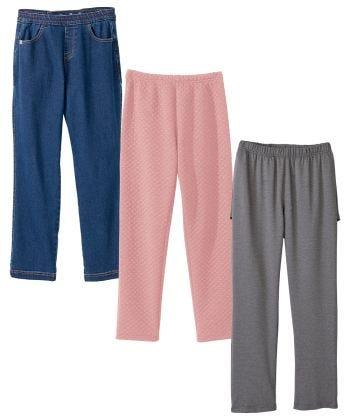 Women's Open Back Pant Variety Bundle