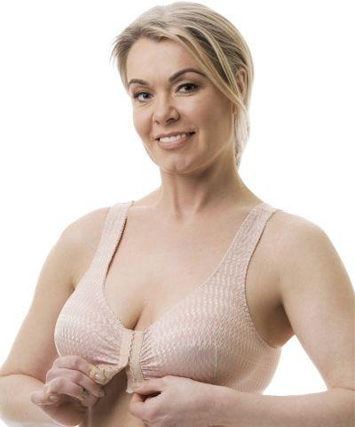 Silverts Disabled Elderly Needs Arthritic Front Closing Bra Arthritis Clothing for Women